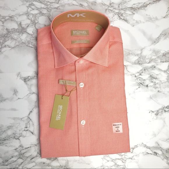 Michael Kors Other - MICHAEL KORS Non Iron Print Button Down Shirt NWT
